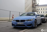yas marina blue bmw m4 convertible spotted for the first Bmw M4 Yas Marina Blue