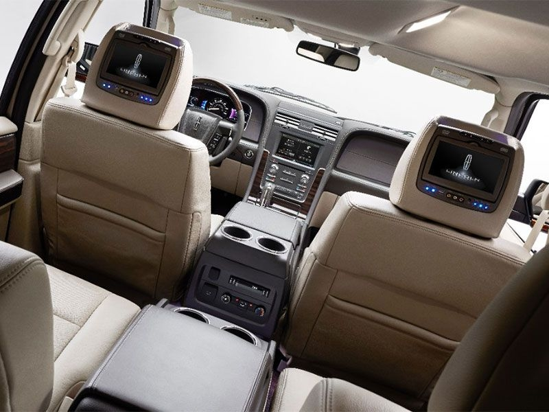 10 suvs with rear entertainment systems autotel Gmc Rear Entertainment System