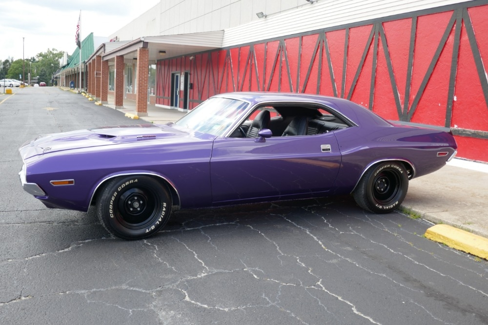 1970 dodge challenger priced to sell new paint plum crazy Dodge Barracuda Purple