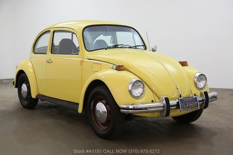 1973 volkswagen beetle for sale in los angeles ca Volkswagen Beetle Yellow