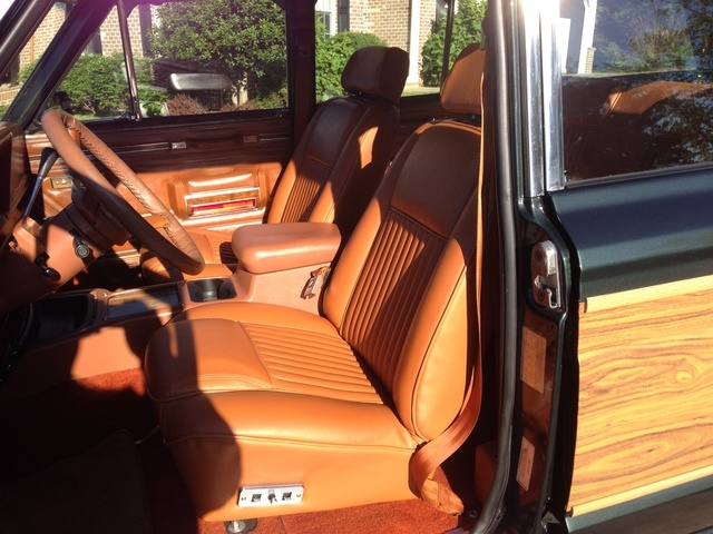 1984 jeep grand wagoneer interior pictures cargurus Jeep Grand Wagoneer Interior