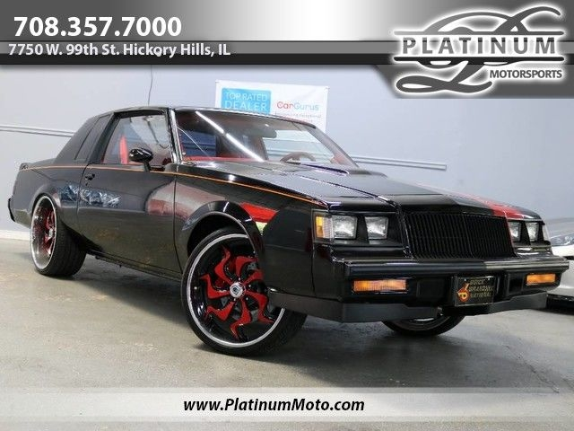 1986 buick regal grand national rare astroroof all custom gn big invested Buick Regal Grand National