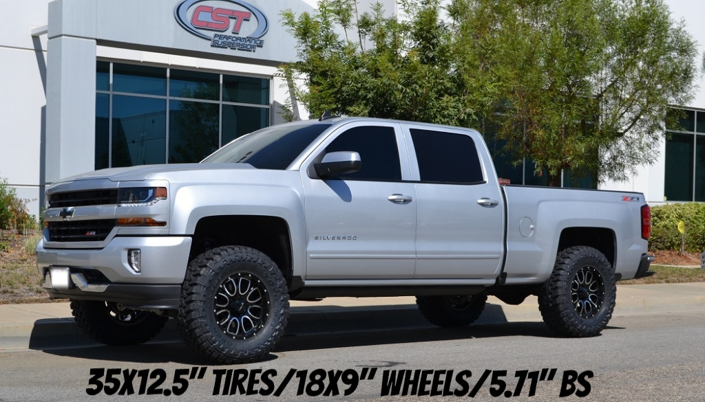 2020 2020 chevy silverado gmc sierra 1500 4wd complete lift kit cst 45 lift Chevrolet Silverado Lift Kit