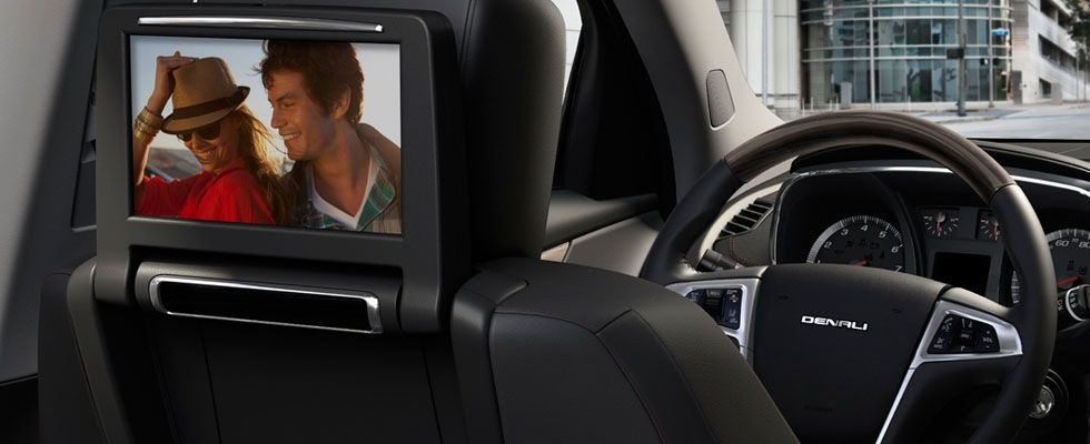 2020 gmc terrain denali shown with available rear seat dvd Gmc Rear Entertainment System
