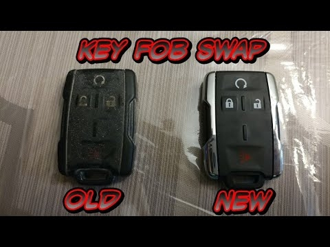 2014 silverado key fob swap battery change Chevrolet Silverado Key Fob