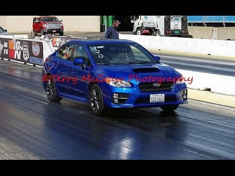 2015 subaru wrx map stage 1 14 mile drag race compliation at route 66 raceway joliet il 42217 Subaru Wrx Quarter Mile