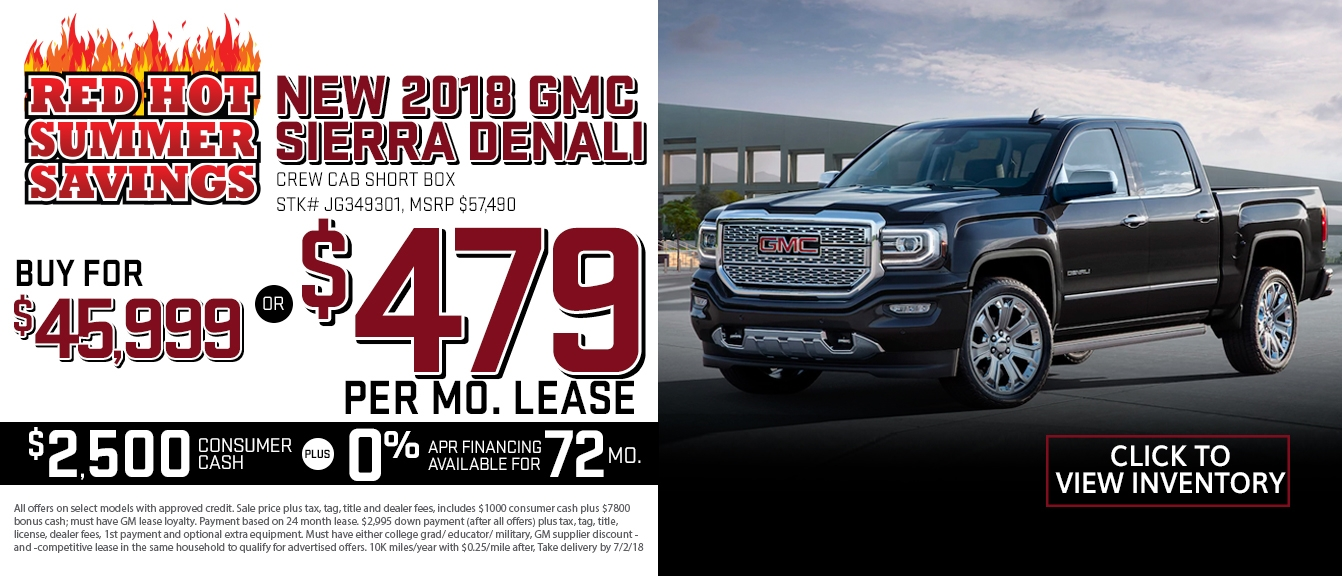 2020 gmc sierra lease special near boca raton and ft Gmc Zero Percent Financing