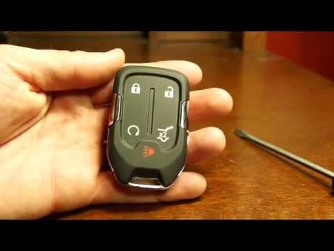 2020 gmc acadia key fob battery replacement Gmc Key Fob Battery Replacement