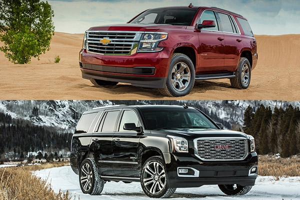 2018 chevrolet tahoe vs 2018 gmc yukon whats the Chevrolet Tahoe Vs Gmc Yukon