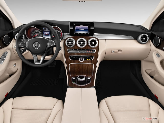 2018 mercedes benz c class 340 interior photos us news Mercedes C Class Interior