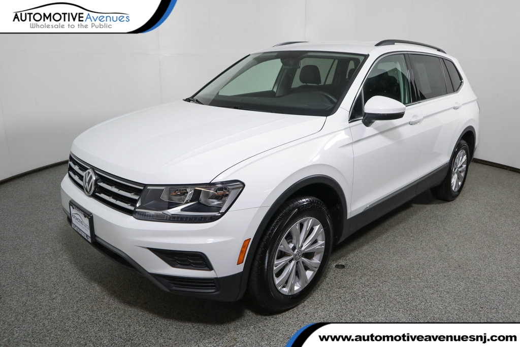 2018 volkswagen tiguan 20t se fwd with 3rd row seating front wheel drive suv Volkswagen Tiguan 2.0t Se