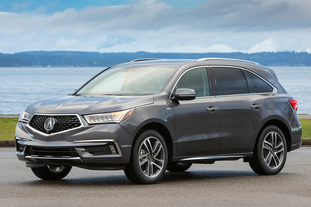 2020 acura mdx sport hybrid new car review autotrader Acura Mdx Plug In Hybrid
