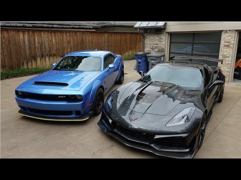 Permalink to Corvette Zr1 Vs Dodge Demon