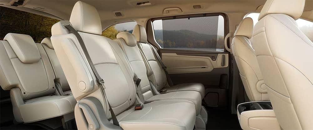 2019 honda odyssey interior features cargo space seating Honda Odyssey Interior