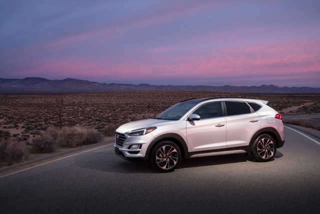 2020 hyundai tucson night edition adds upscale bbs wheels Hyundai Tucson Night Edition