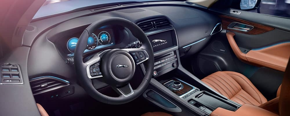 2019 jaguar f pace interior capacity features jaguar Jaguar FPace Interior
