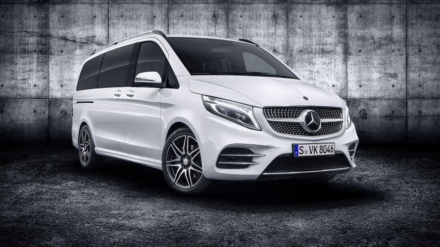 2019 mercedes v class debuts refresh with new engine tech Mercedes V Class Facelift