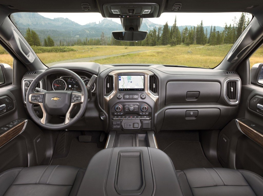 Chevrolet High Country Interior