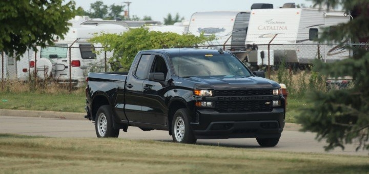 2020 silverado work truck first real world pictures gm Chevrolet Silverado Work Truck