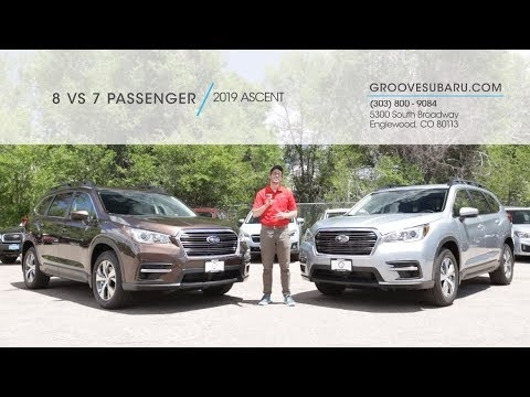 2019 subaru ascent 8 vs 7 passenger which one is right for you Subaru Ascent Vs Audi Q7