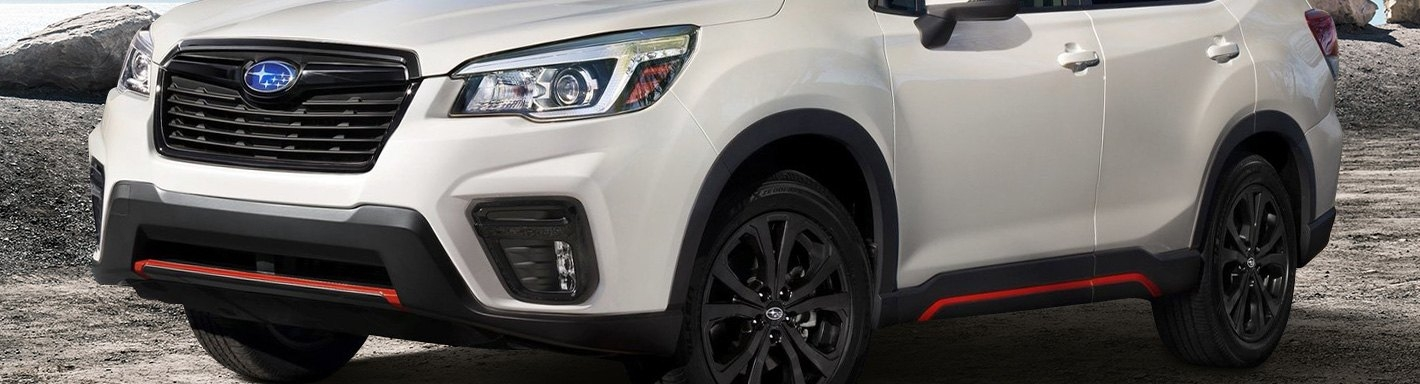 2019 subaru forester accessories parts at carid Subaru Accessories Forester