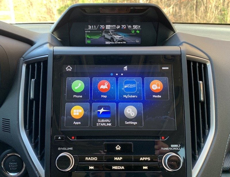 2020 subaru forester carplay review macrumors Subaru Starlink Review