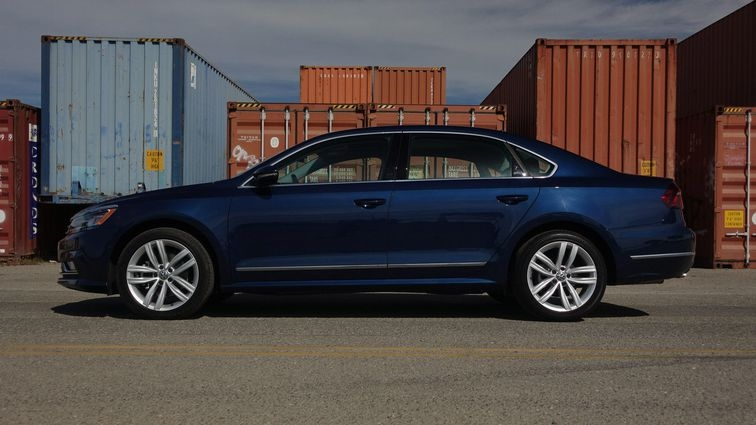 2019 vw passat review comfy ride with a large backseat Volkswagen Passat Review