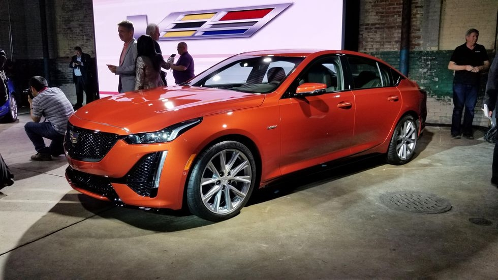 2020 cadillac ct5 v has 355 hp and super cruise tech Cadillac Ct5 To Get Super Cruise In