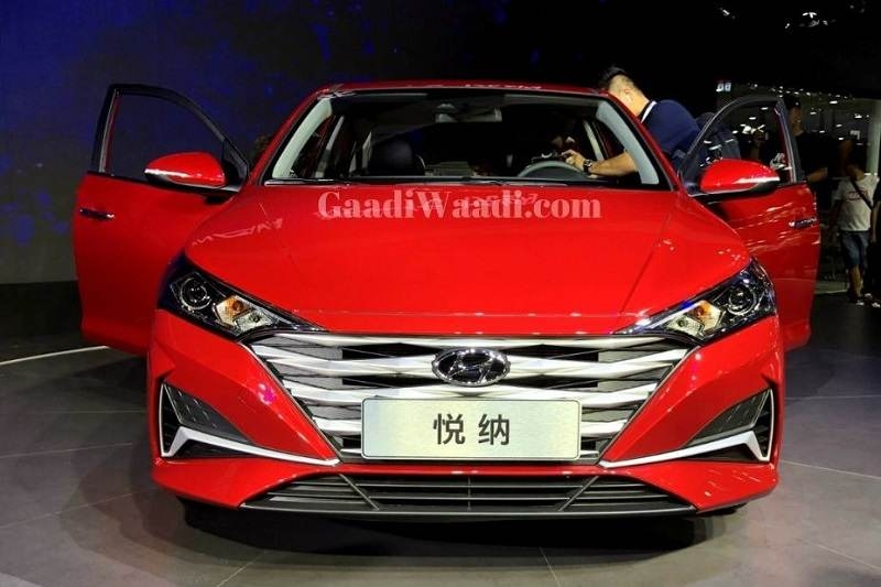 2020 hyundai verna officially unveiled at cms 2019 Hyundai Verna Facelift
