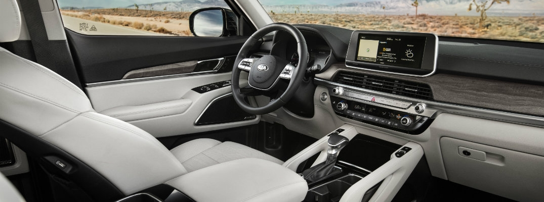 2020 kia telluride fabric and upholstery options Kia Suv Telluride Interior