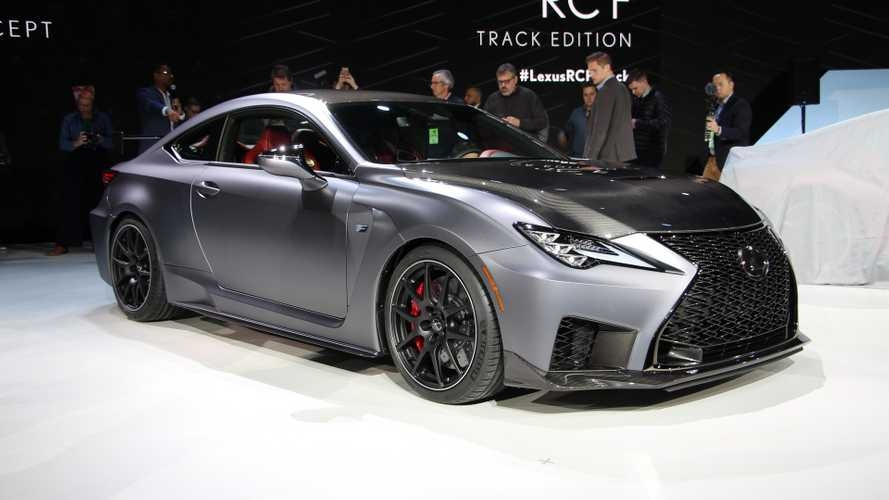2020 lexus rc f track edition debuts in detroit update Lexus Rc F Track Edition Specs