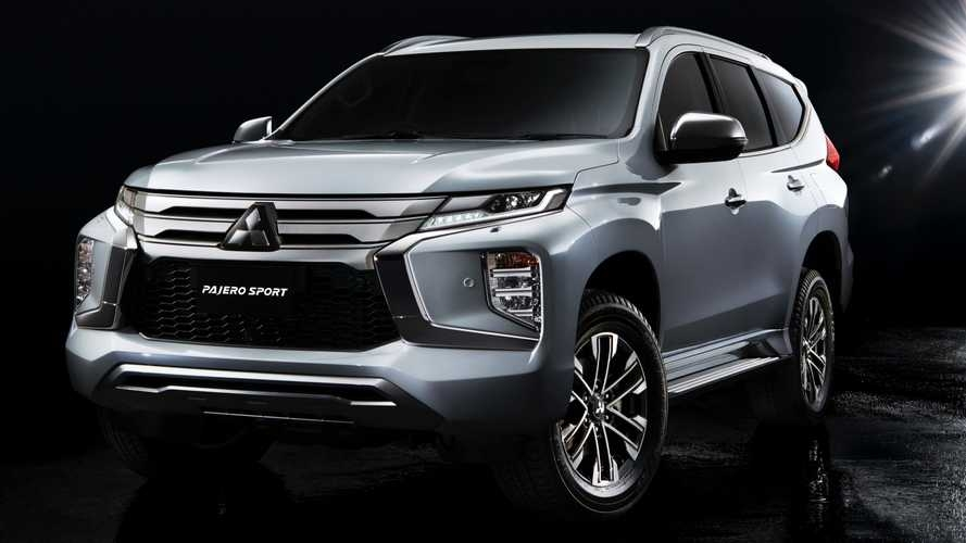 2020 mitsubishi pajero sport gets fresh face updated interior Mitsubishi Pajero Sport Facelift