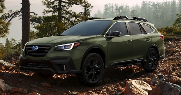 2020 subaru outback sixth gen unveiled at nyias Subaru Outback Unveiling