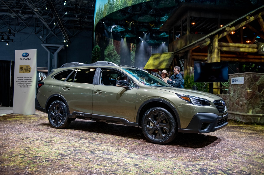 Permalink to Subaru Outback Unveiling