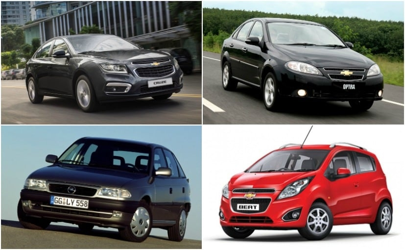 7 popular general motors cars sold in india carandbike Chevrolet Upcoming Cars In India
