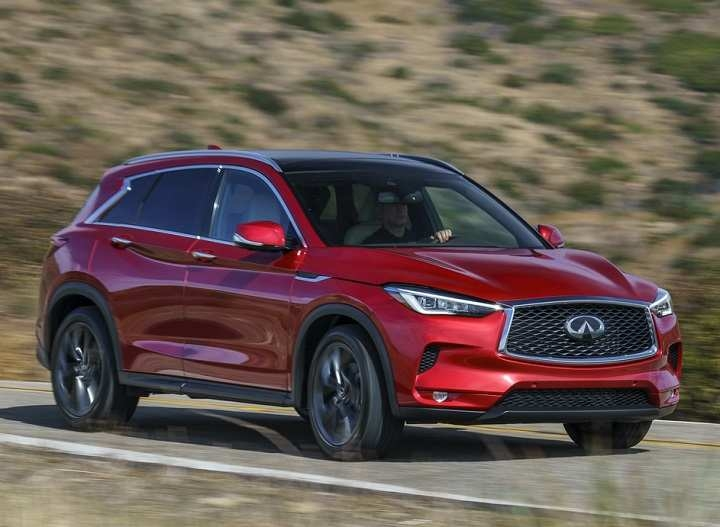 Infiniti Qx50 Owners Manual