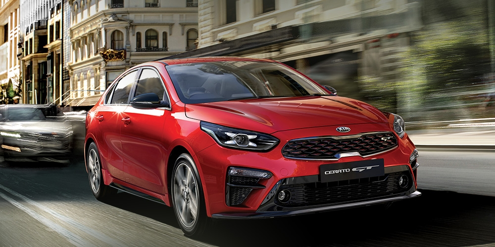 a clean sweep for the all new kia cerato new suvs cars Kia Cerato New Zealand