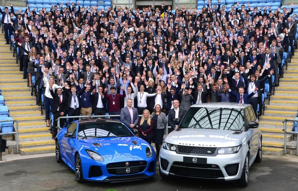 all early careers Jaguar Land Rover Apprenticeships