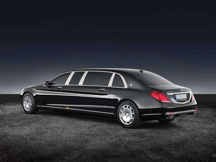 armored mercedes maybach s600 pullman guard limo pictures Mercedes Maybach S600 Pullman Guard