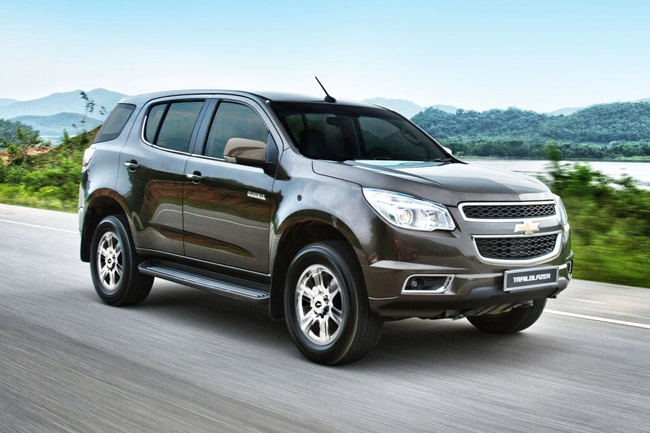 chevrolet philippines introduces new trailblazer 28 4x2 ltx Chevrolet Trailblazer Philippines