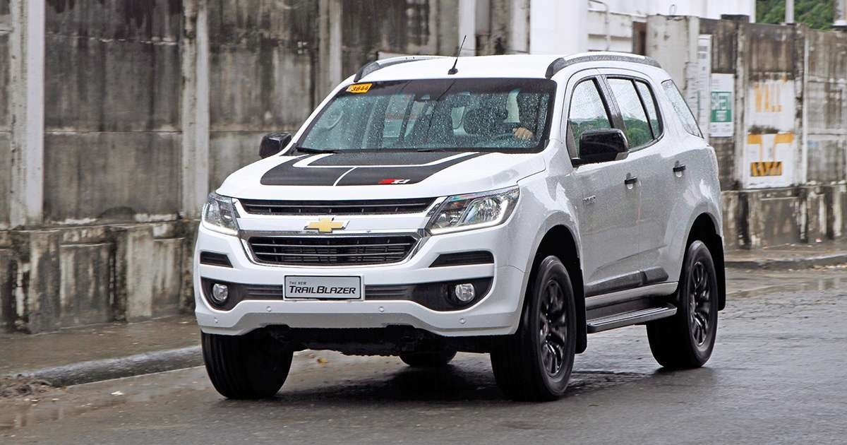 chevrolet trailblazer review in the philippines top gear Chevrolet Trailblazer Philippines