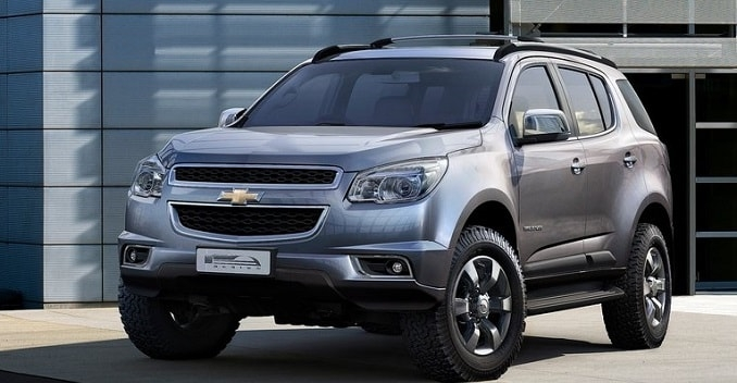 chevrolet trailblazer suv spin mpv to be launched in india Chevrolet New Car In India