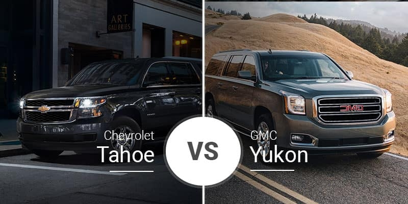 chevy tahoe vs gmc yukon big suvs siblings battle it out Chevrolet Tahoe Vs Gmc Yukon