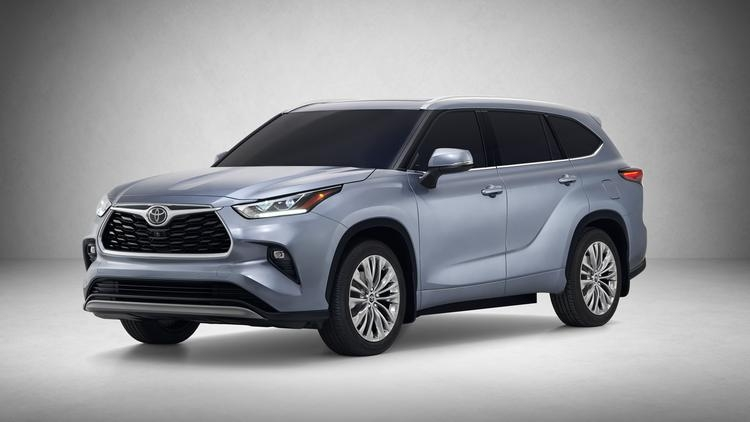 Toyota Highlander Redesign
