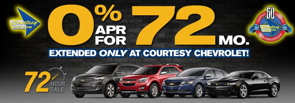 courtesy chevrolet is a phoenix chevrolet dealer and a new Chevrolet Zero Percent Financing