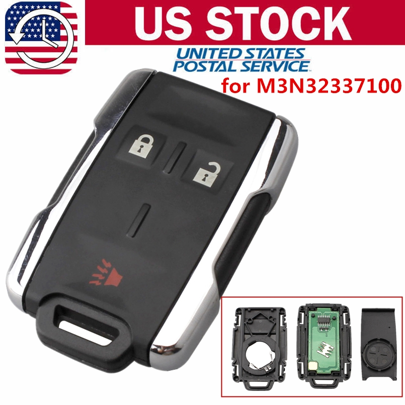 details about for 2014 2015 2016 2017 chevrolet silverado entry remote key fob m3n 32337100 Chevrolet Silverado Key Fob
