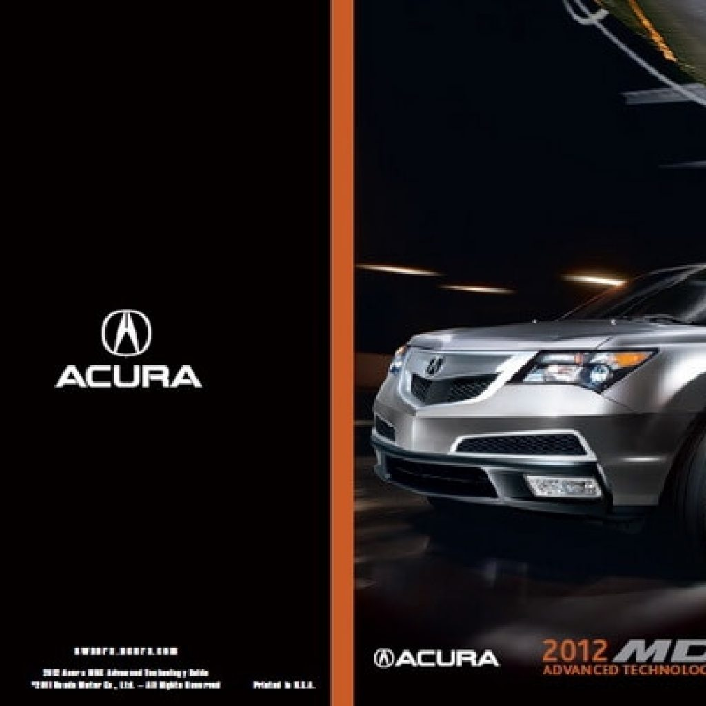 download 2012 acura mdx owners manuals guides duipee Acura Owners Manual Mdx
