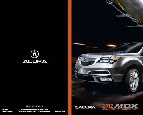 Permalink to Acura Owners Manual Mdx