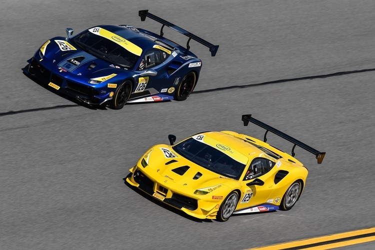 ferrari challenge north america takes off at daytona Ferrari Challenge North America