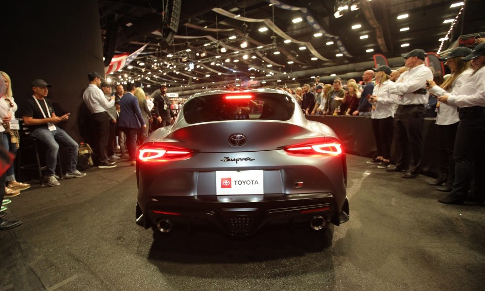 first production 2020 toyota gr supra goes for 21 million Toyota Supra Barrett Jackson